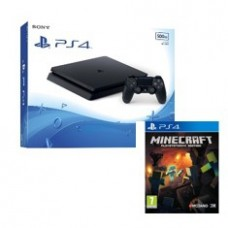 Consola Sony PS4 500gb Slim Nuevo Chasis + Minecraft