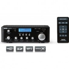 Amplificador Estereo Hifi Fonestar  AS-24U 15W+15W  LCD  /  USB  /  Sd /  MP3  /  Mpg