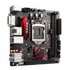 Placa Base Asus Intel B150I Pro Gaming Aura Socket 1151 SSR4 32GB 2133 Mhz 32GB Dvi HDMI  Mini Itx