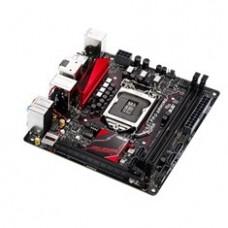 Placa Base Asus Intel B150 Progamong Aura Socket 1151 DDR4 X2 2133MHZ MAX32GB  Dvi HDMI  Mini Itx