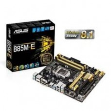 Placa Base Asus Intel B85M-E Socket 1150 DDR3X4 1600MHZ 32GB HDMI Matx