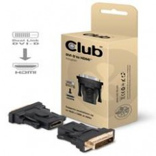 Adaptador Club 3D Dvi-d (24+1 Pin) Macho A HDMI 1.3 Hembra