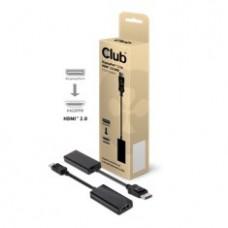 Adaptador Club 3D Displayport 1.2 A HDMI 2.0