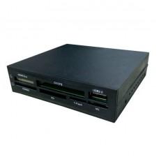 Lector Tarjetas Memoria  Coolbox CR-404 3.5'' Interno USB 2.0