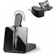 Auricular Inalambrico Plantronics CS540 + Descolgador Para Telefono Fijo con Cable, En Box