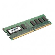 Memoria DDR2 2gb Crucial /  Dimm 240 /  800mhz /  PC2 6400 /  Cl 6 /  1.8V