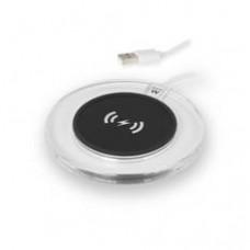 Plataforma de Carga Universal Ewent EW1190 Inalambrica /  Micro-usb /  Blanca-transparente