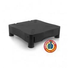 Elevador de Monitor Ewent EW1280 con Cajon /  Negro Regulable En Altura