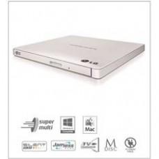 Regrabadora Lg DVD Rw GP57EW40, Slim, Externa USB Blanca