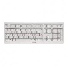 Teclado Cherry Kc 1000 Silencioso USB Ultra Slim Blanco