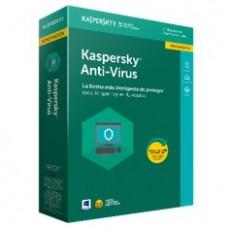 Antivirus Kaspersky Antivirus 2018 3 Licencias Renovacion