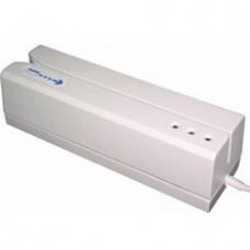 Lector Tarjetas de Banda Magnetica de 3 Pistas USB Blanco