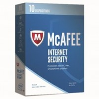 Antivirus Mcafee Internet Security 2017 10 Dispositivos