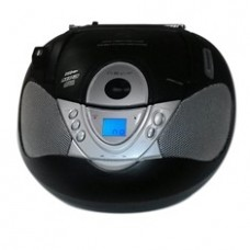 Radio Cd MP3 Portatil Nevir NVR-474U Negro