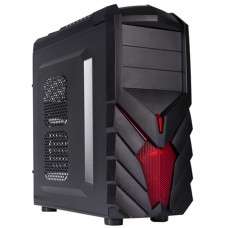 Caja Ordenador ATX Negra Pc Gamer Black Lion PG1137 USB 3.0 Gaming
