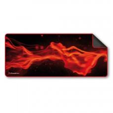 Alfombrilla Phoenix Phfactorpad-l Gaming Para Mouse Raton y Teclado TamaÑo L 850 X 295 X 3 Mm Silicona Suave Antideslizante Rojo y Negro