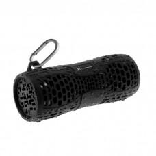 Altavoz Bluetooth Portatil Phoenix Phmegaboombt  Ducha  /  Deporte  /  Sport  /  Waterproof  /   Resistente Agua  IPX6   /  Manos Libres  /  Incluye Mosqueton, Negro Acabado En Goma