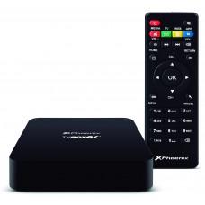 Android TV Box Quad Core @ 1.5 Ghz Phoenix PHTVBOX4K+  /  Android 6  /  2gb DDR3  /  8gb  /  Resolucion 4k 2160P  /   Ethernet  /  Wifi  /  Bluetooth /  4 X USB  /  Micro Sd  /  HDMI 2.0  /  Incluye Mando Negro