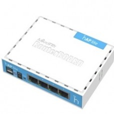 Mikrotik Router Board Rb / 9412ND Hap Lite With 650MHZ Cpu, 32MB Ram, 4xlan, Built-in 2.4GHZ 802B / g / n 2x2 Two Chain Wireless