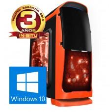 Ordenador Phoenix Revolution Gaming, AMD Ryzen 7 1700X, Radeon Rx 560 4gb GDDR5, 16GB DDR4 , 250GB Ssd, 1tb Hhd, Rw, ATX Sobremesa, Windows 10