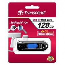 Memoria USB 128GB Jetflash 790K Transcend /  90mb / s Lectura /  40mb / s Escritura